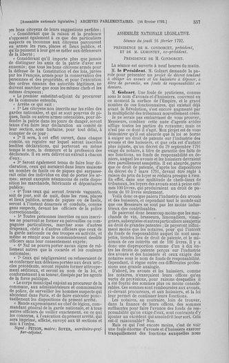 Tome 38 : Du 29 janvier au 21 février 1792 - page 557