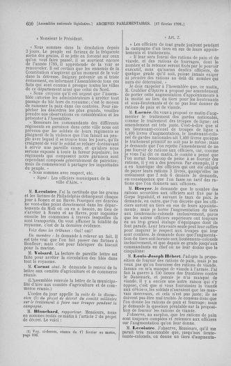 Tome 38 : Du 29 janvier au 21 février 1792 - page 600