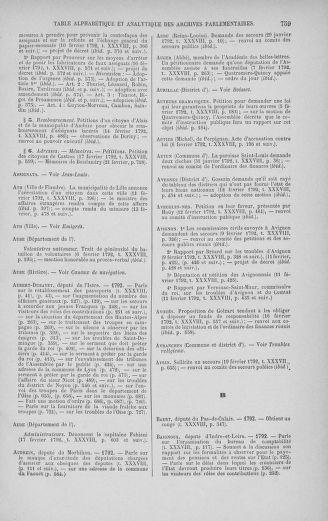 Tome 38 : Du 29 janvier au 21 février 1792 - page 759