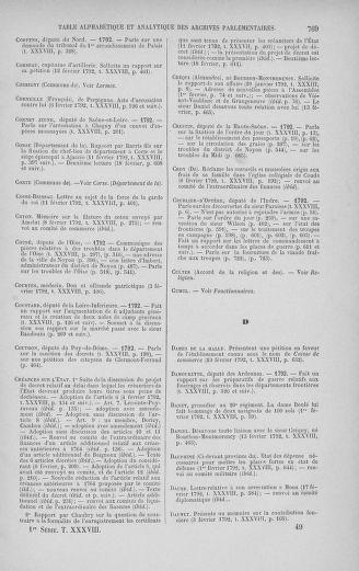 Tome 38 : Du 29 janvier au 21 février 1792 - page 769