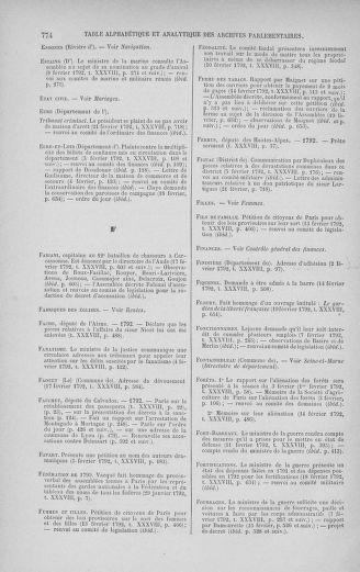 Tome 38 : Du 29 janvier au 21 février 1792 - page 774
