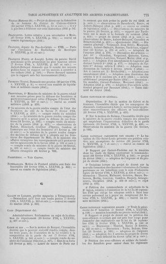 Tome 38 : Du 29 janvier au 21 février 1792 - page 775