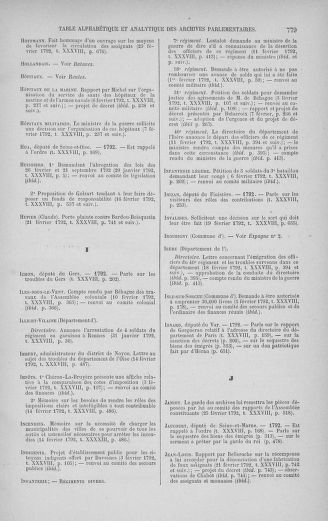 Tome 38 : Du 29 janvier au 21 février 1792 - page 779
