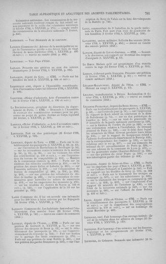 Tome 38 : Du 29 janvier au 21 février 1792 - page 781