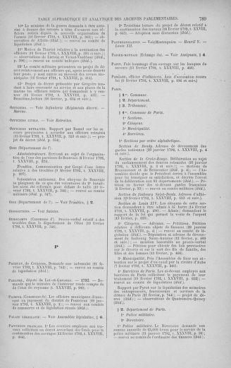 Tome 38 : Du 29 janvier au 21 février 1792 - page 789