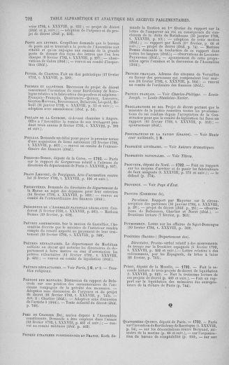 Tome 38 : Du 29 janvier au 21 février 1792 - page 792