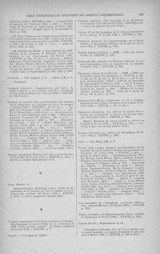 Tome 38 : Du 29 janvier au 21 février 1792 - page 799