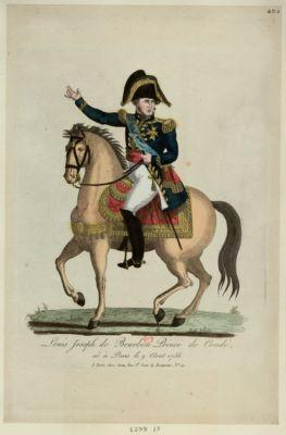 Louis Joseph de Bourbon prince de Condé né à Paris le 9 aout 1736 : [estampe]