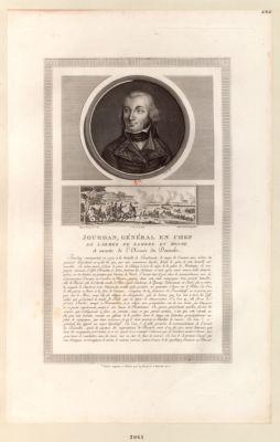 Jourdan, général en chef de l'armée de Sambre et Meuse [estampe]