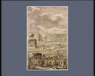[Retour du Roi <em>à</em> Paris le 25 juin 1791] [estampe]