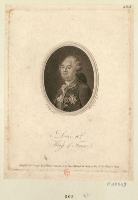 Louis 16 King of <em>France</em> [estampe]