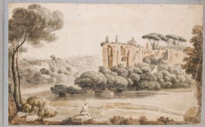 Palatino, resti del Palazzo di Settimio Severo verso il Settizonio