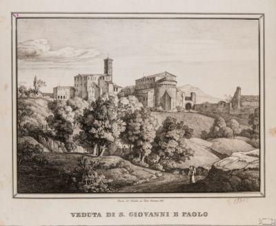 Veduta di SS. Giovanni e Paolo