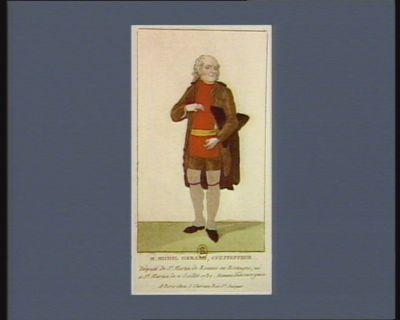 M. Michel Gerard, cultivateur député de St Martin de Rennes en Bretagne, né a St Martin le 2 juillet 1737. Homme d'un rare génie : [estampe]