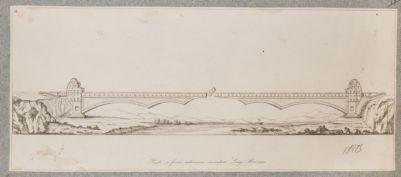 Tevere, progetto di ponte snodato sul fiume