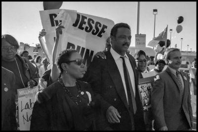 Jesse Jackson, American Civil Rights activist, Baptist minister and politician