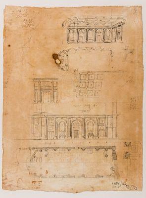 Chiesa di San Giuliano in Banchi, interno e pianta