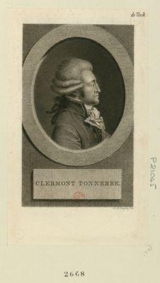 Clermont Tonnerre [estampe]