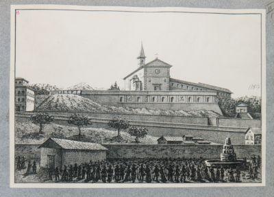 Gianicolo. S. Pietro in Montorio