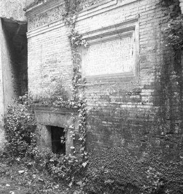 Tomb of Ti. Claudius Vitalis, exterior view