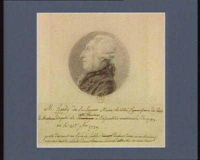 M. Hardy de La Largère maire de Vitré commissaire des Etats de Bretagne député de cette province à l'Assemblée nationale de 1789 né le 21.e 7.bre 1729 : [dessin]