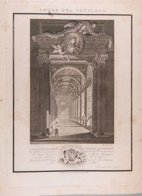 Palazzo Vaticano. Logge di Raffaello, galleria