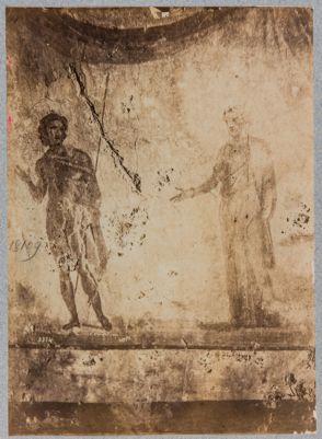 Colombari degli Statili, pitture