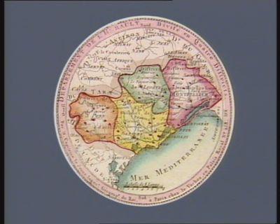 Departement de l'Herault divisé en quatre districts : [estampe]