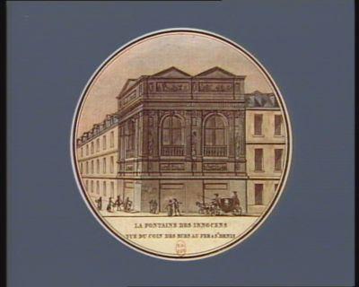 La  Fontaine des Innocens vue du coin des rues au Fer & St Denis [estampe]