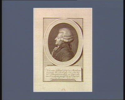 Honorius Gabriel Graf von Mirabeau Deputirter der Landvogtey von Aix bey der Nationalversammlung im Jahre 1789, zum Praesidenten gewaehlt den 29ten Jener 1791. gestorben den 2ten April 1791 : [estampe]