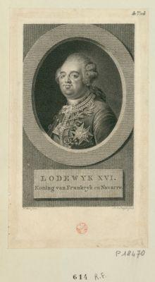 Lodewijk <em>XVI</em> Koning van Frankrijk en Navarre : [estampe]