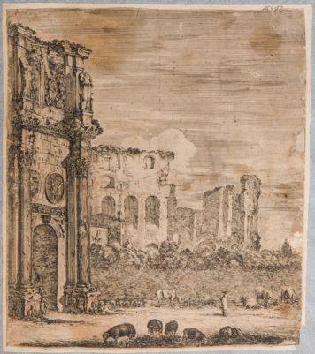 Colosseo e parte dell'Arco di Costantino