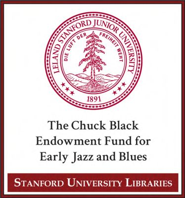 The Chuck Black Endowment Fund For Early Jazz And Blues