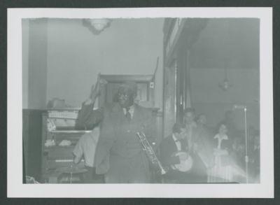 Bunk Johnson with Pat Patton, 1943