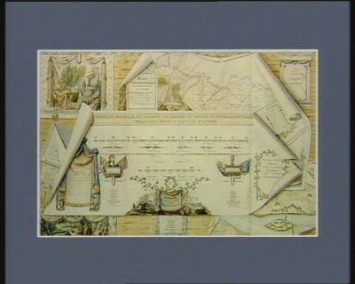 Ordre de bataille de l'armée de Sambre et Meuse d'apres la nouvelle organisation du 3 pluvios. 5.<em>e</em> année [dessin]