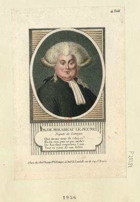 M. De Mirabeau le jeune député de Limoges : [estampe]