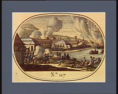 N.o 117 28 dito (18 dito) Reprise de Toulon par les Français... : [estampe]
