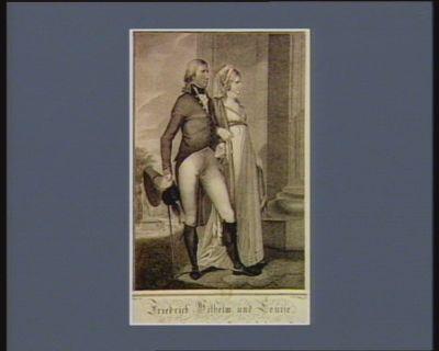 Friedrich Wilhelm und Louise Ihro Königl. Hoheit der verwit weten Prinzessin Ludwig von Preussen : [estampe]