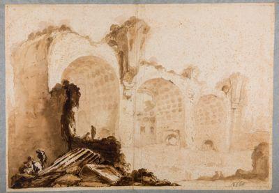 Veduta della Basilica di Massenzio
