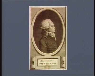 Maxîmiliano Robespierre [estampe]