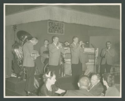 Turk Murphy Jazz Band at Easy Street with Richard Hadlock on clarinet