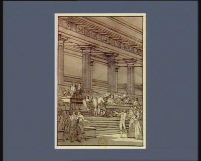 [Evénement du sept septembre 1789] [dessin]