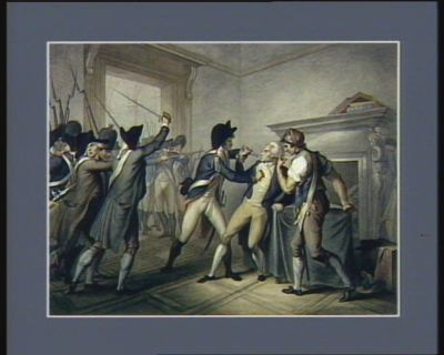 Apprehension of Roberspierre July 27 1794 [estampe]