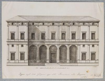 Palazzo della Farnesina, prospetto (di Baldassarre Peruzzi)