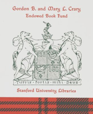 Gordon B. and Mary L. Crary Endowed Book Fund