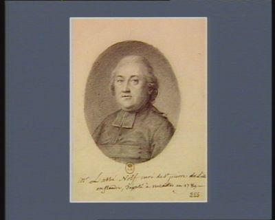 Mr l'abbé Nolf curé de St Pierre de Lille en Flandre, député à Versailles en 1789 : [dessin]