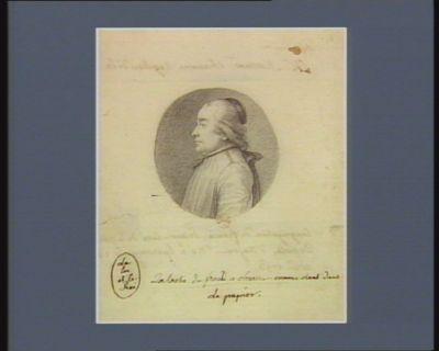 M. Martinet chanoine régulier de la Congrégation de <em>France</em> député d'Anjou... : [dessin]