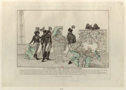 Le  Triomphe des armées françaises [estampe]
