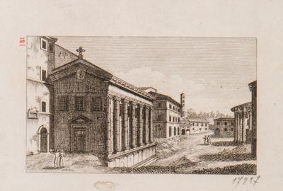 Foro Boario, Tempio cosidetto della Fortuna Virile