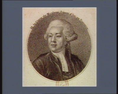 M. le comte de Mirabeau, député d'Aix en Provence [estampe]